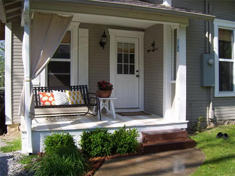 Simple Small Porch Idea