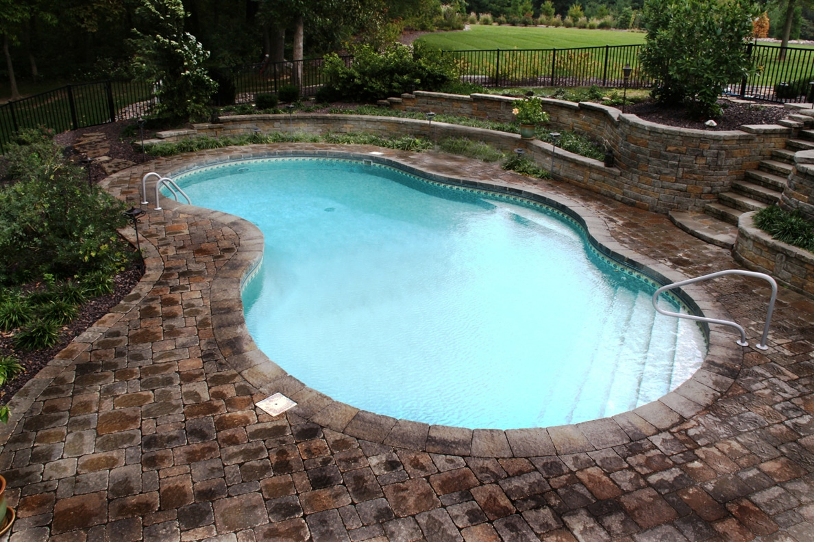 Small Inground Pool Image