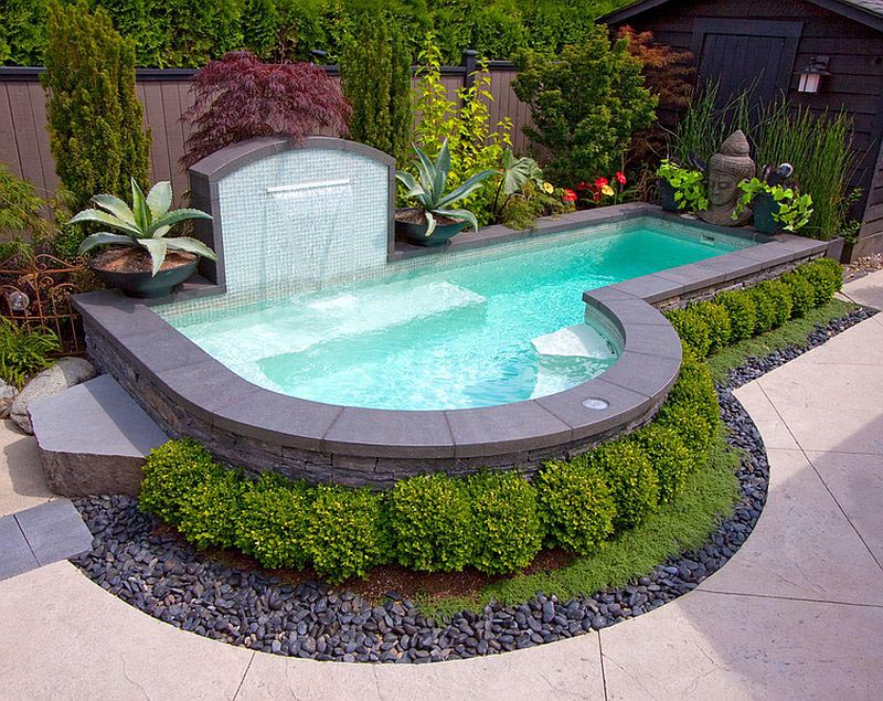 Small Inground Pool idea