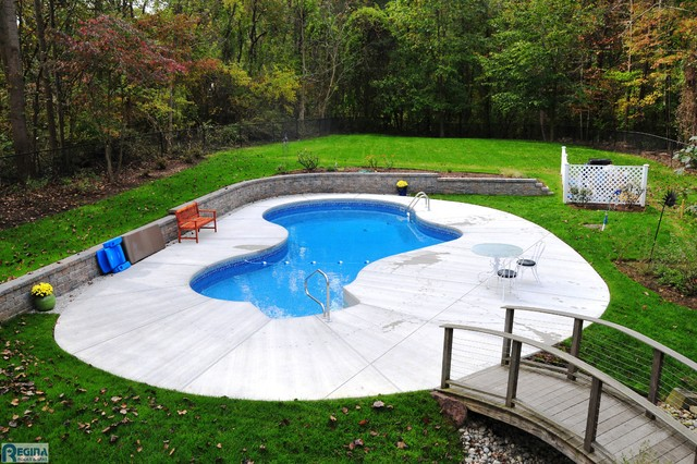 Small Inground Pool Unique Idea