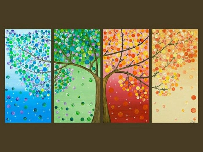 Tree Wall Art Background