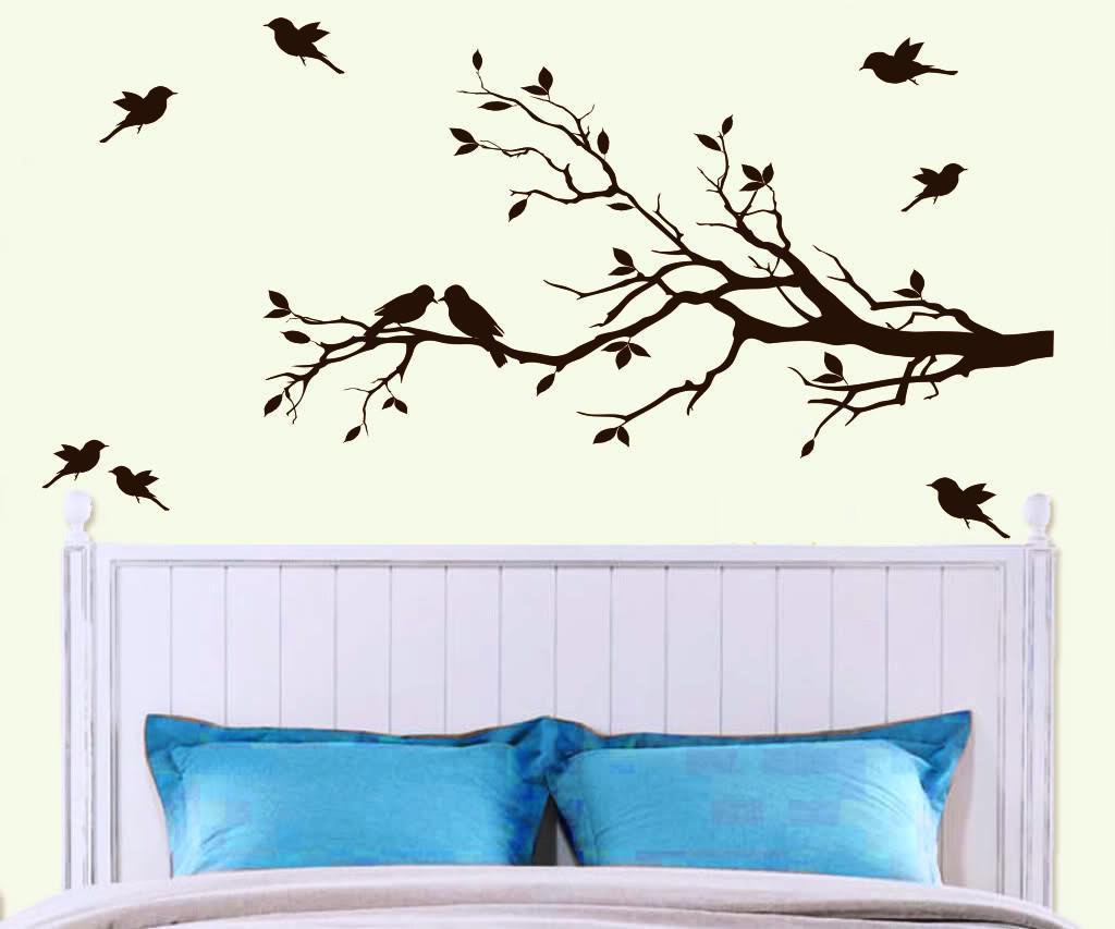 Tree Wall Art Layout