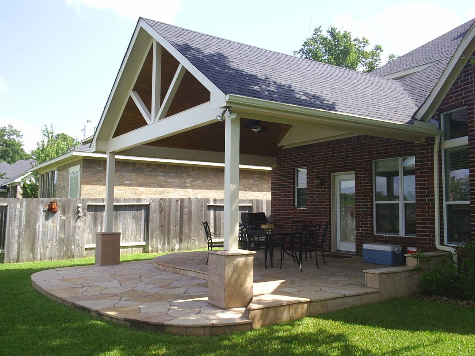 Unique Backyard Patio Idea