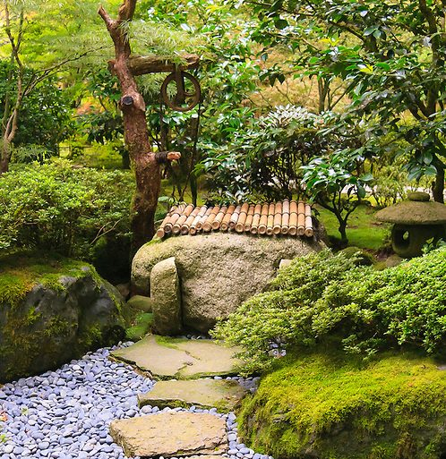 Unique Japanese Garden