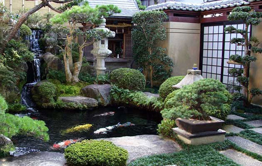 Unique Japanese Garden Design
