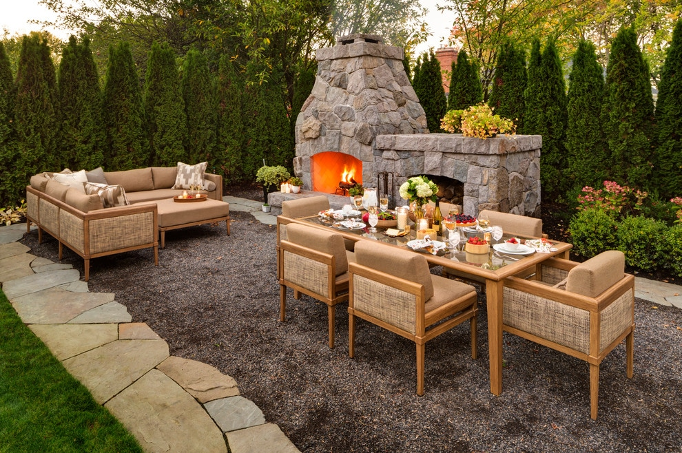 Unique Patio Furniture Idea