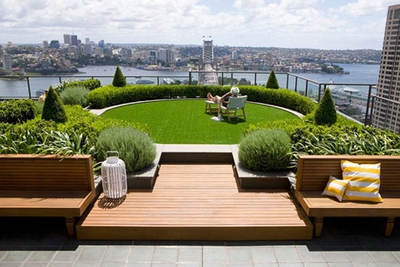 Unique Terrace Design