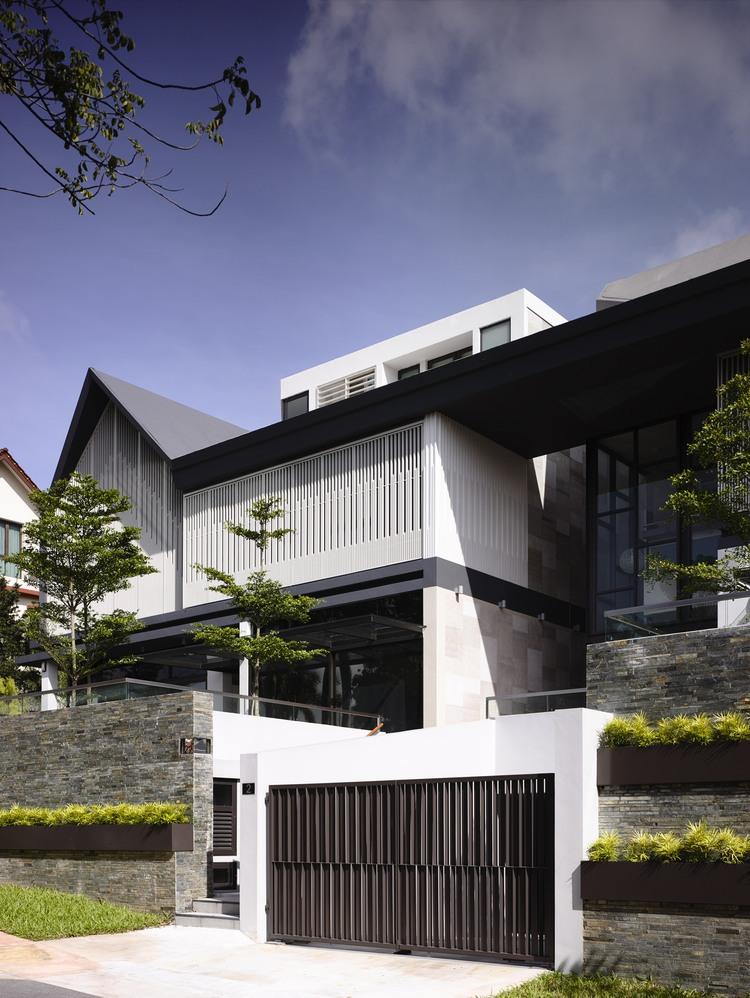 Unique Terrace House Design