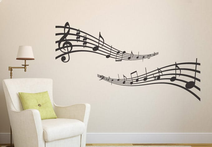 Wall Decor Sticker Background