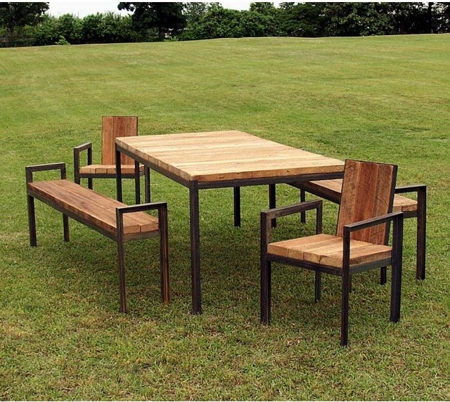 Wood Patio Furniture Idea