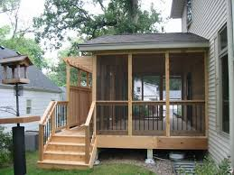 Wood Small Porch Idea
